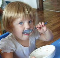 Детский сад «Шалуны» — питание